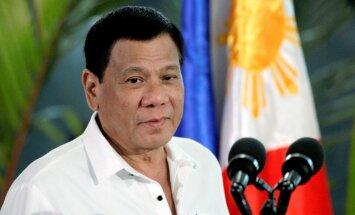 Tramps uz Balto namu ielūdzis Filipīnu prezidentu Duterti