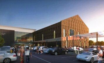 Apstiprina jaunā Rīgas tirdzniecības centra 'Akropole' dizainu