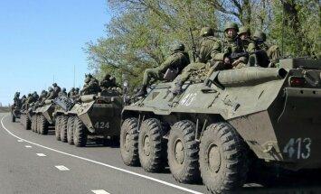Krievija pārtraukusi karavīru izvešanu no Ukrainas