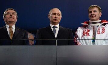 SOK prezidents apmeklēs PK finālu un pirmo reizi pēc Krievijas dopinga skandāla tiksies ar Putinu