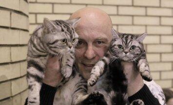 Foto: Iespaidīgā dzīvnieku izstādē Ķīpsalā apskatāmi suņi, kaķi un pat milzu gliemeži