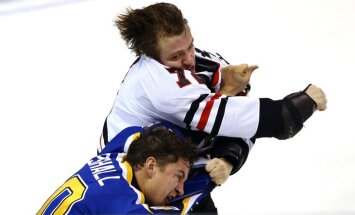 Chicago Blackhawks Artemi Panarin vs St.Louis Blues Scottie Upshall