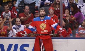 Russia forward Alex Ovechkin