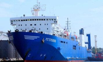 Российский паром освобожден из-под ареста в Таллинском порту