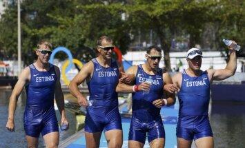 Гребцы принесли Эстонии и Литве первые медали образца Рио-2016