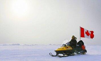 Kanāda vēlas paplašināt savas jūras robežas, iekļaujot Ziemeļpolu