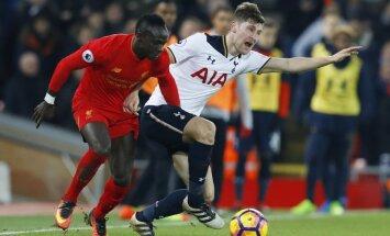 Liverpool Sadio Mane, Tottenham Ben Davies