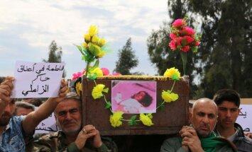 Bailes un panika Irākā – 'Daesh' izmanto ķīmiskos ieročus