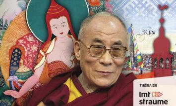 Dalailama nākamnedēļ sniegs mācību Rīgā