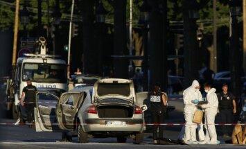 Francijā pēc islāmista uzbrukuma policistiem aizturētas četras personas