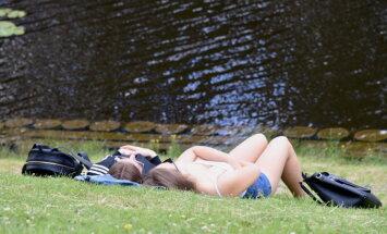 Синоптики обещают Латвии теплую и дождливую неделю
