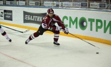 KHL spēle: Rīgas 'Dinamo' – Sanktpēterburgas SKA 3:1 (rit 2.periods)