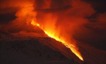 Aktivizējies Eiropas aktīvākais vulkāns Etna