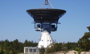 Ar Irbenes radioteleskopu novērots zemei garām palidojušais asteroīds