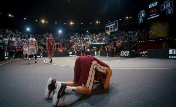 Eiropas kausa vicečempions 3x3 basketbolā Miezis: ir rūgtums, jo pietrūka ļoti maz, lai triumfētu turnīrā