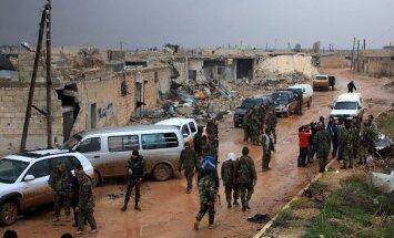 Sīrijas opozīcija atkāpjoties nodod pozīcijas kurdiem