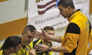 Latvijas volejbola čempionāta ceturtdaļfināli sākas ar grūtām 'Poliurs/Ozolnieki' un DU uzvarām