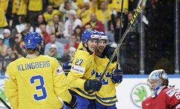 Zviedrija tikai pagarinājumā apspēlē Šveici