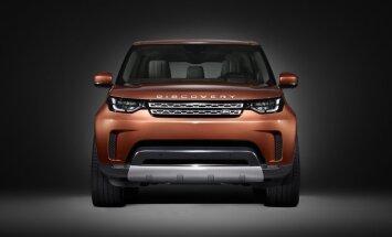'Land Rover' daļēji atklājis jauno 'Discovery' modeli
