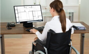 NVA: uzņēmēji nepilnīgi novērtē personas ar invaliditāti un pirmspensijas vecuma cilvēkus