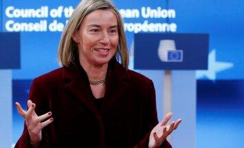 Krievijai jānovērš EDSO novērotāju konstatētie trūkumi vēlēšanās, norāda Mogerīni