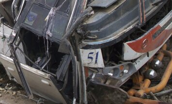 Autobusā avārijā Spānijā deviņi bojāgājušie