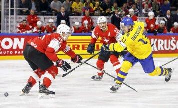 Шведы победили Швейцарию в сумасшедшем финале и второй год подряд стали чемпионами мира