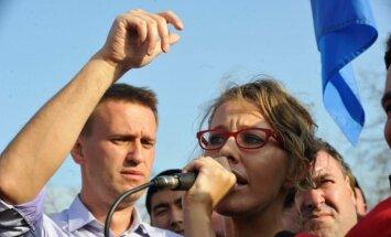 СМИ России: Собчак, занявшая место Навального, встретится в Лондоне с Ходорковским