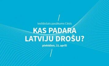 Festivālu 'Lampa' iesildīs saruna 'Kas padara Latviju drošu?'