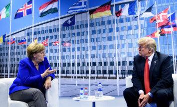 Меркель надеется, что Трамп и Путин придадут импульс ядерному разоружению