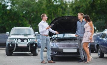 Latvijā iecienītākie auto ir VW, 'Toyota' un 'Audi'
