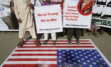 ASV aptur drošības palīdzību Pakistānai