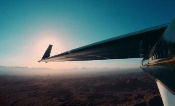 ФОТО, ВИДЕО: Facebook испытала огромный беспилотник на солнечных батареях