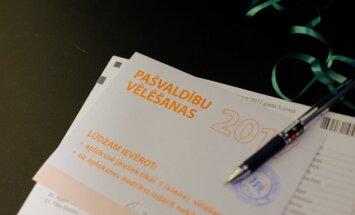 Neatceļ vēlēšanu rezultātus Rīgas 38 iecirkņos