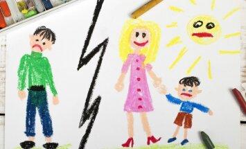 Kā pareizi 'dalīt' bērnus pēc šķiršanās ģimenē: pētnieku skatījums
