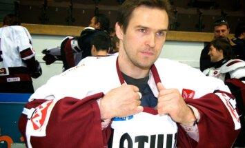 Latvijas Hokeja federācija iemūžinās Artūra Irbes numuru