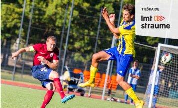 'Jelgava' kompensācijas laikā uzvar 'Ventspils' futbolistus