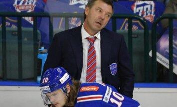 SKA head coach Oleg Znarok, Viktor Tikhonov