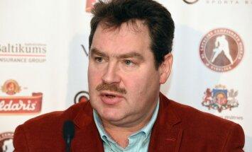 Latvijas hokeja izlases treneris Miļuns: no viena treniņa un sapulces jāuztaisa komanda