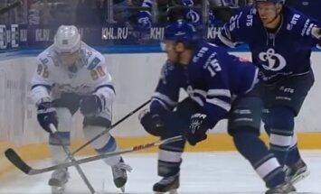 Video: Karsumam viens no nedēļas skaistākajiem spēka paņēmieniem KHL