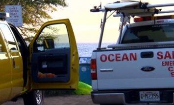 Varonīgs amerikāņu skolotājs izglābis haizivs sakostu tūristi