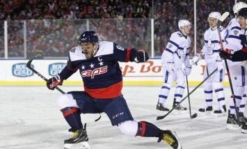 Овечкин шестым в истории НХЛ девять раз забросил 40 шайб за сезон