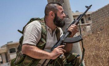ASV bruņojums sasniedzis Sīrijas nemierniekus, ziņo 'The Washington Post'