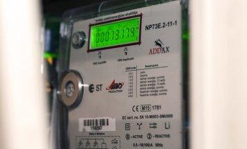 Šogad uzstādīs 110 tūkstošus viedo elektrības skaitītāju