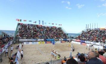 'Jūrmala Masters' pludmales volejbola turnīrs – ar pasaules vadošajiem 'bīčistiem', ievērojamu budžetu un lielām ambīcijām