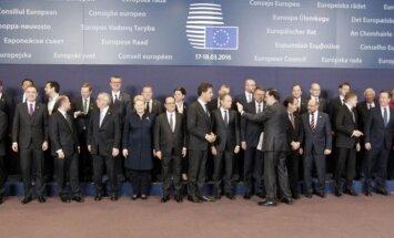Briselē sākas ES samits par vienošanos ar Turciju