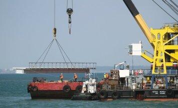 Forbes: сроки возведения Керченского моста сдвигаются из-за ошибки чиновников