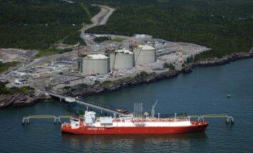 ASV uzsāk eksportēt sašķidrināto dabasgāzi