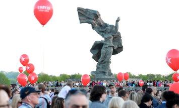 Infografikas: Vai Latvijā vēlas padomju laiku atgriešanos un atbalsta Uzvaras dienu?