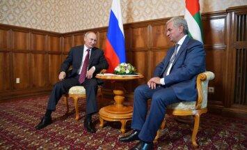 """Госдеп США: визит Путина в """"оккупированную"""" Абхазию неприемлем"""